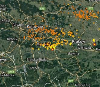 Pierwsze wiosenne burze nad Małopolską