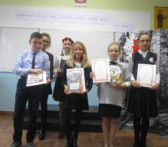 Międzyszkolny Konkurs Polskiej Poezji Patriotycznej w SP 8