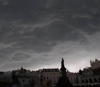 Podwójne ostrzeżenie meteorologiczne dla Małopolski