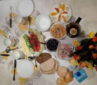 Śniadanie ucznia Zespołu Szkolno-Przedszkolnego w Przyprostyni