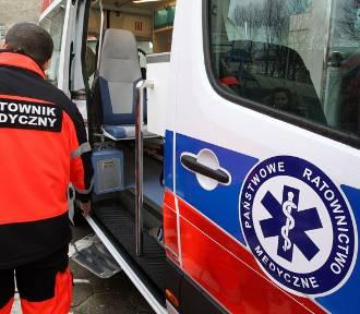 Nie żyje kierowca fiata po wypadku na Oświęcimskiej w Rudzie Śląskiej