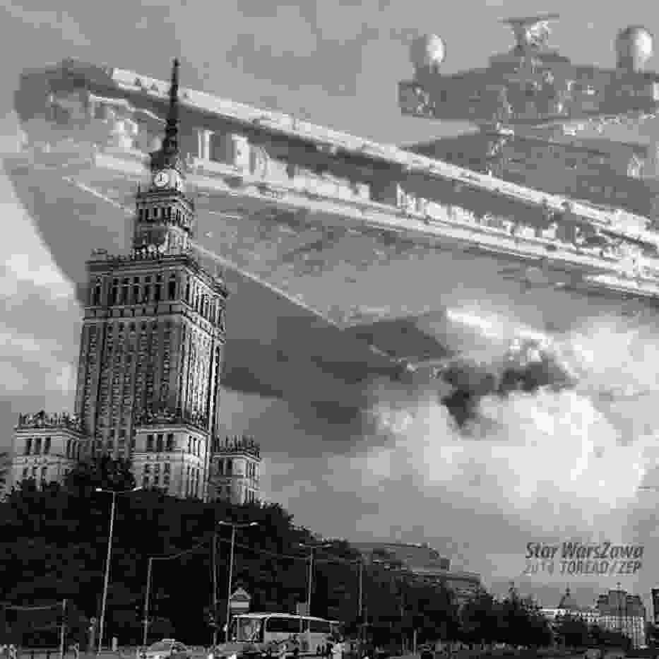 Gwiezdne Wojny zawładnęły Warszawą