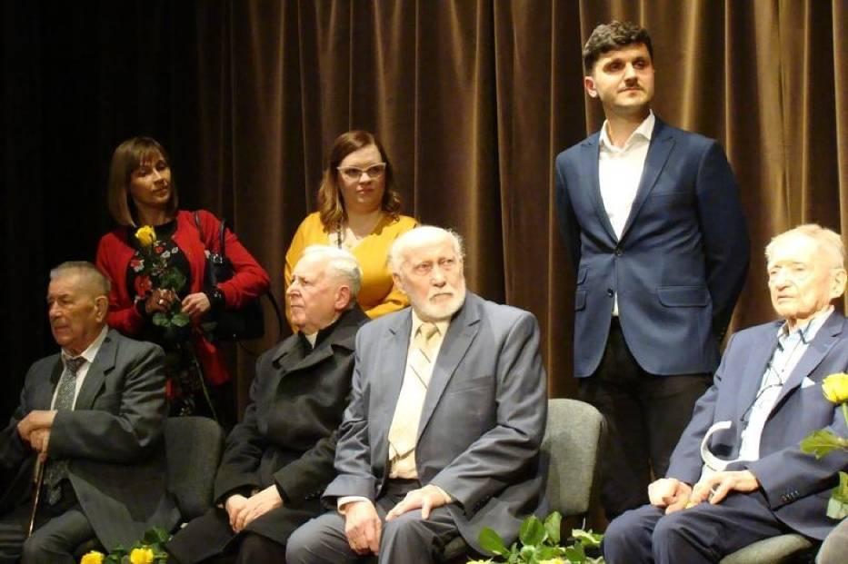 Twórcy filmu wraz z jego bohaterami podczas spotkania po premierowej projekcji