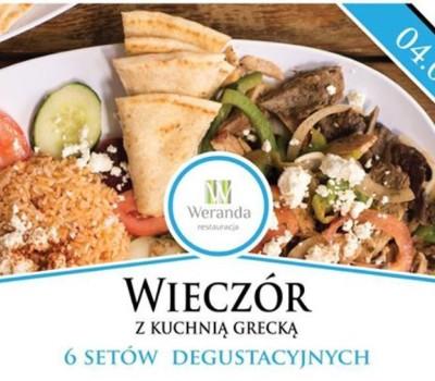 Wieczór Z Kuchnią Grecką Restauracja Weranda Mielec Mielec