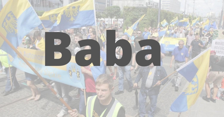 """BABA - po polsku """"kobieta"""", po turecku """"ojciec"""""""