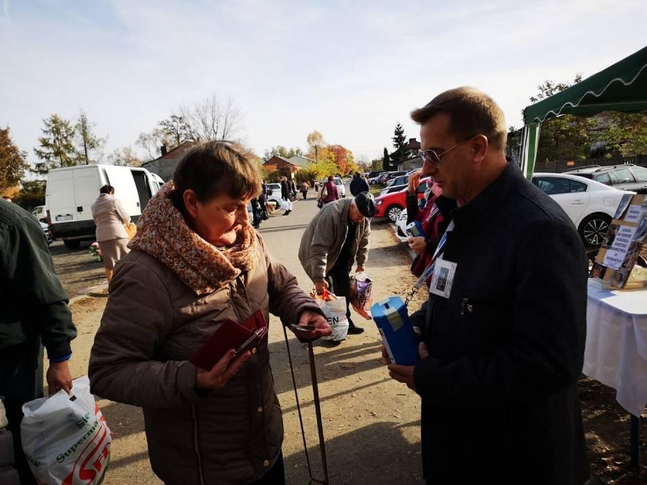 Kwesta na cmentarzu w Rossoszycy 2018