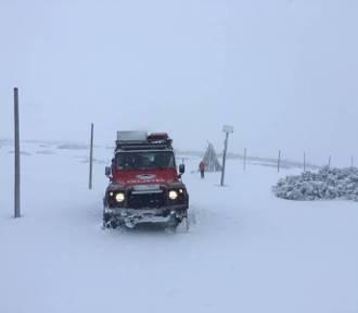 W Karkonoszach sypnęło śniegiem! Spadło 15 centymetrów!