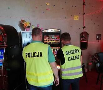 Powiat nowodworski. Policja zatrzymała nielegalne automaty do gry