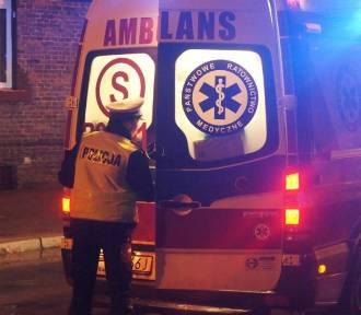 Wypadek na ulicy Legionów w Kaliszu. Nie żyje potrącona kobieta. ZDJĘCIA