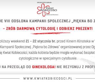 "Startuje VIII odsłona Ogólnopolskiej Kampanii Społecznej ""Piękna bo Zdrowa"""