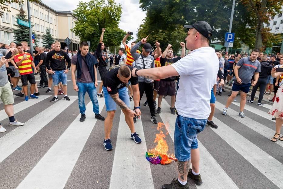 Marsz równości w Białymstoku spotkał się z olbrzymią agresją