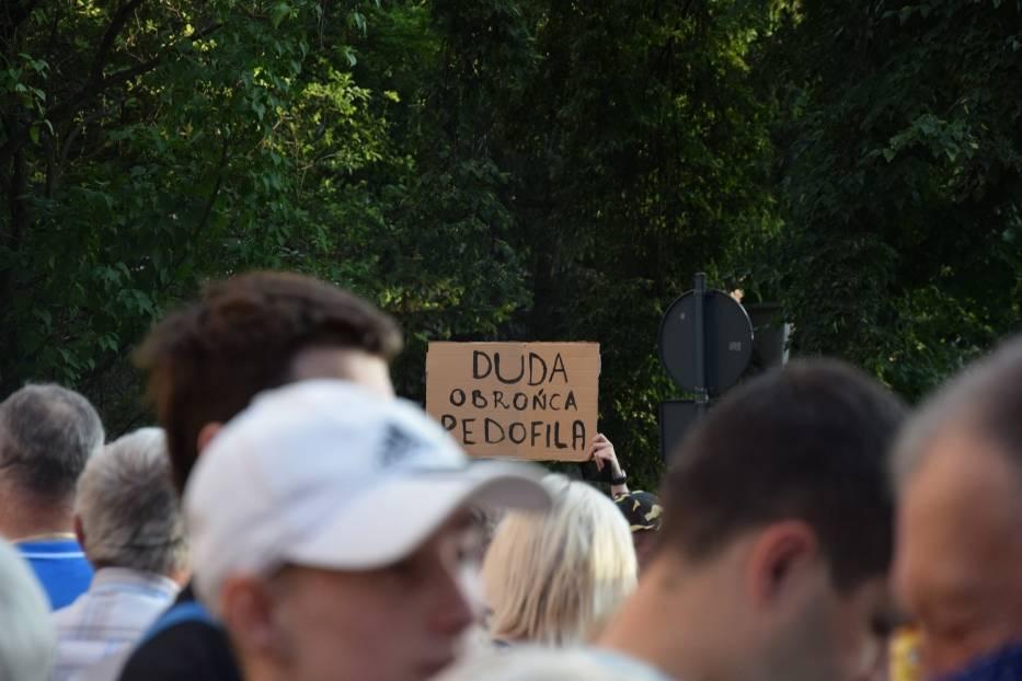 Wizyta Andrzeja Dudy, walczącego o reelekcję prezydenta, 2 lipca 2020 r