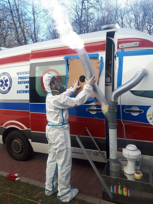 Trwa zbiórka na akcję #DezynfekujemyKaretki Pogotowia Ratunkowego w Polsce