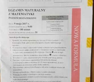Matura 2017. Matematyka, poziom rozszerzony [PYTANIA,ARKUSZE,ODPOWIEDZI]