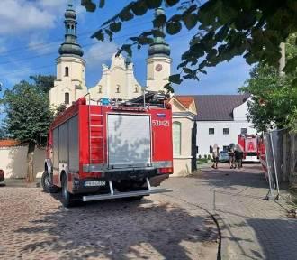 Podpalacz konfesjonału w  kościele bernardynów z Warty zatrzymany!