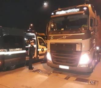 22 tony ponad normę! Przeładowane ciężarówki na A1 [zdjęcia]