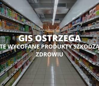 Tego nie kupuj! Wycofane produkty ze sklepów przez GIS
