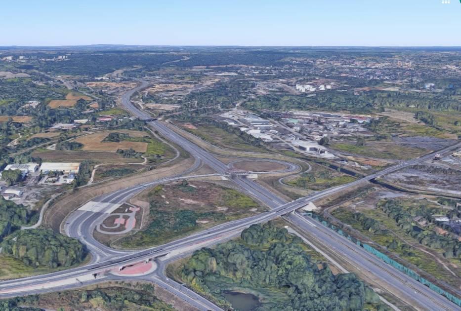 Węzeł Piekary Śląskie na autostradzie A1