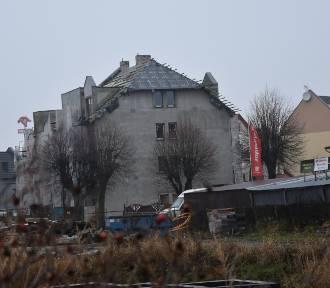 W Sławnie buduje się nowa kamienica - postęp prac [ZDJĘCIA] - 2019 r.