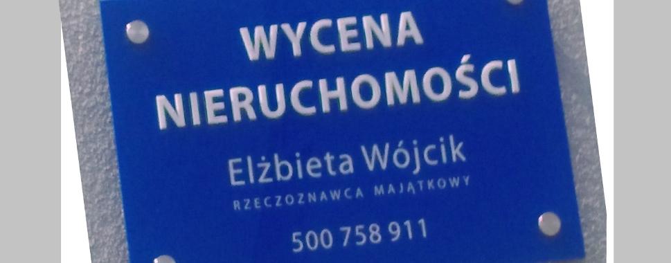 Wycena Nieruchomości Elżbieta Wójcik