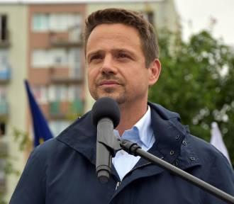 Rafał Trzaskowski w środę w Trzciance