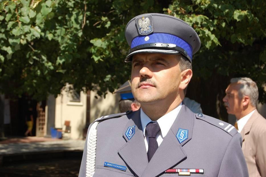 Podinspektor Andrzej Borzyszkowski