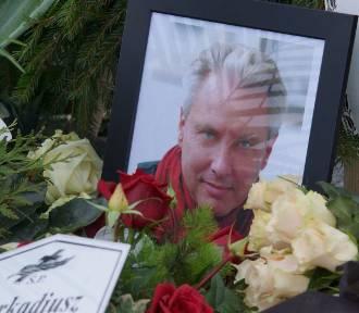 Pogrzeb Arkadiusza Pacholskiego, pisarza, animatora kultury i dziennikarza. ZDJĘCIA