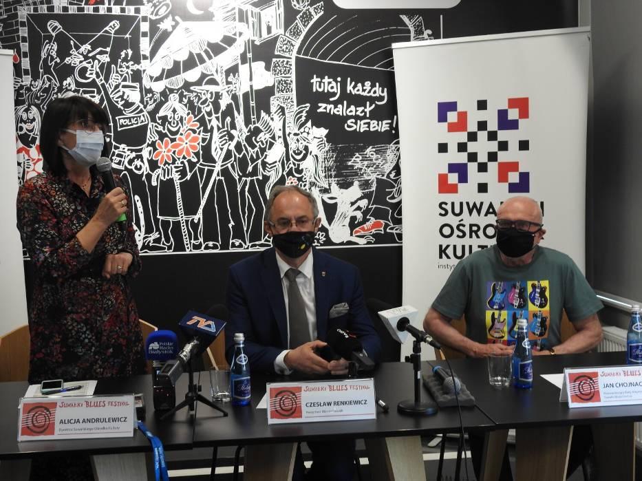 Dzisiaj festiwalowi bluesowemu poświęcona była konferencja prasowa