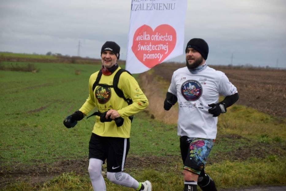WOŚP Gniezno: bieg z Pierwszej Stolicy do Warszawy