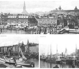 Tu biło serce handlowe miasta. Nabrzeże w Szczecinie 100 lat temu