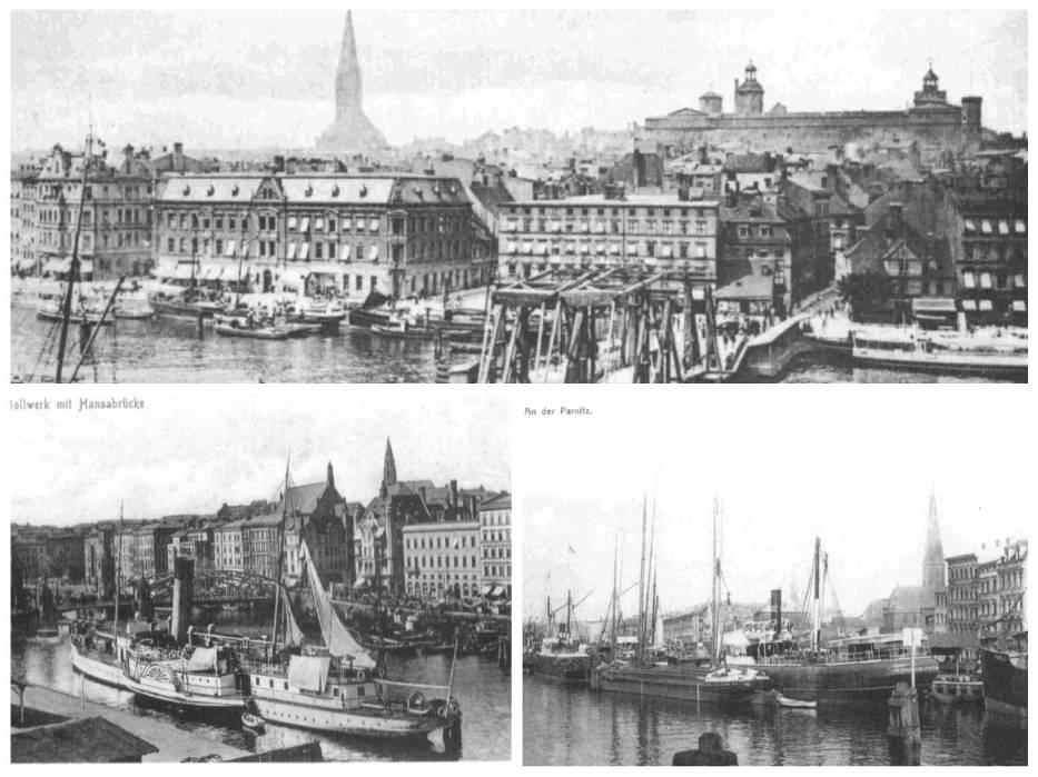 Tu biło serce handlowe miasta, które powstało nad rzeką i od wody się nie odwracało