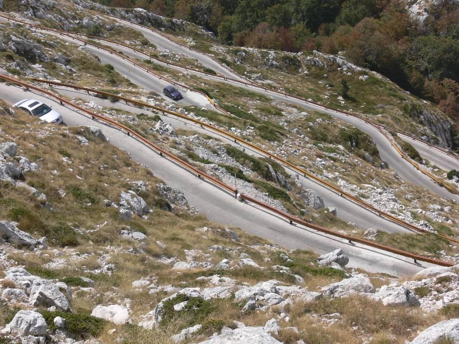 Widok z góry Sveti Jure zapiera dech w piersi