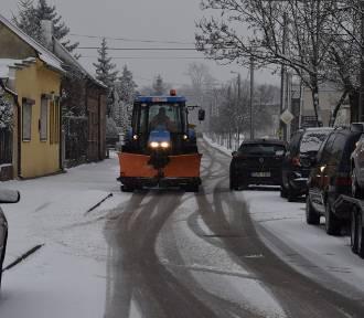 Zduńska Wola znów pod śniegiem. Tak wyglądają dziś ulice
