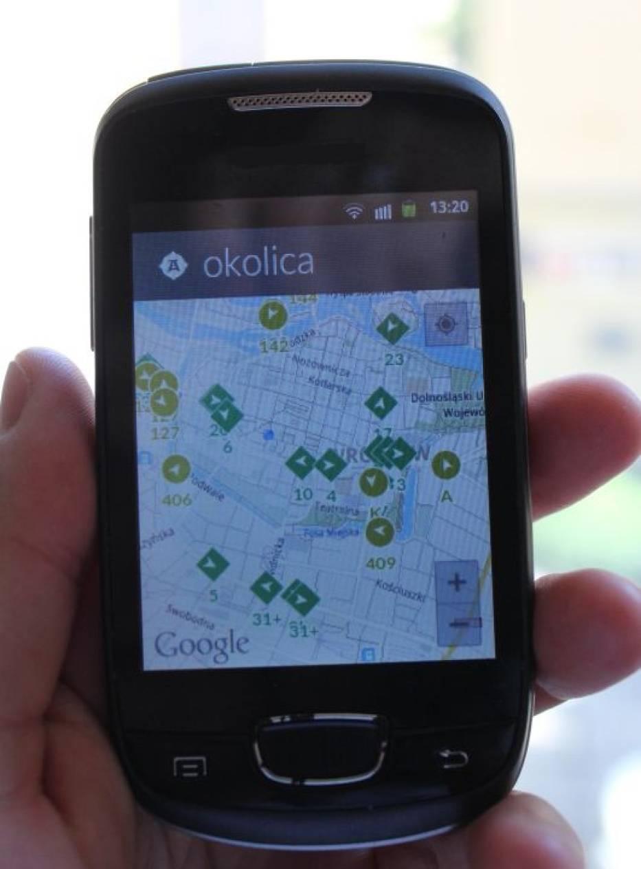 Lokomo pokazuje, gdzie aktualnie znajdują sie autobusy i tramwaje MPK Wrocław