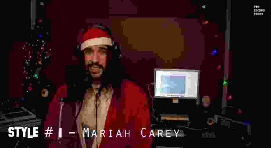 """Przebój """"All I Want For Christmas Is You"""" w 20 różnych stylach [wideo]"""