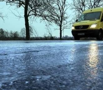 Uwaga kierowcy! Na drogach w Łódzkiem może być bardzo ślisko