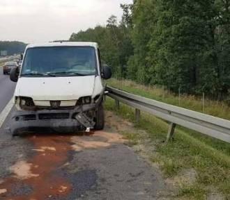 Mysłowice: Wypadek na autostradzie A4, jedna osoba ranna