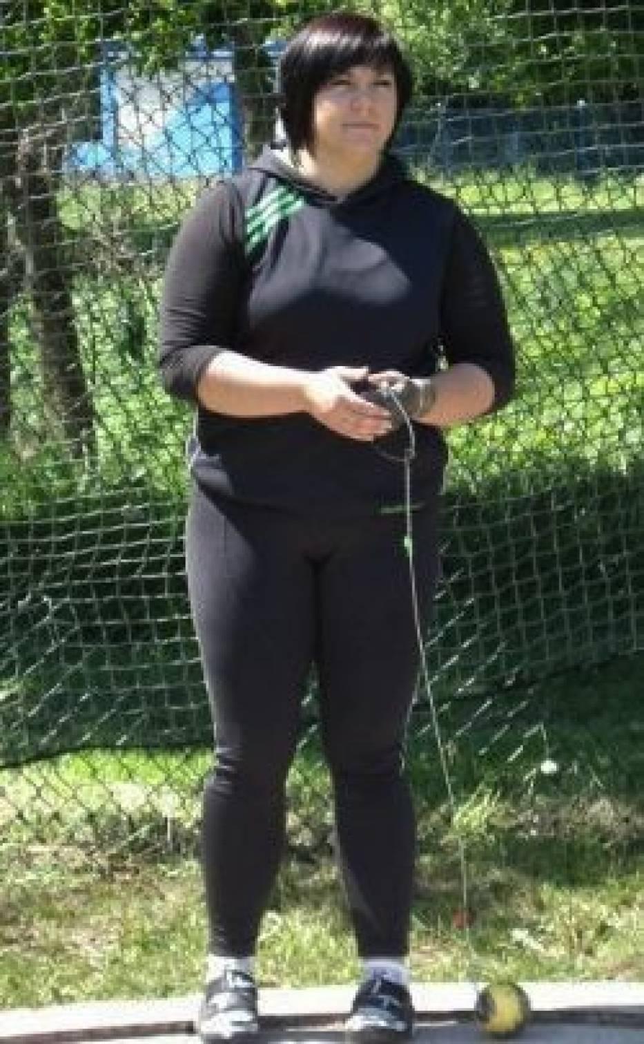 Katarzyna Kita na zawodach w Zamościu