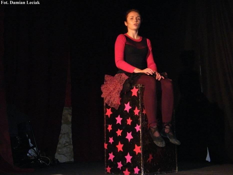 Katarzyna Gorczyna z Teatru Narybek From Poland z Mysłowic