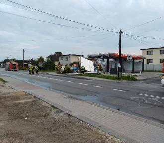 Wybuch i pożar w myjni samochodowej w Jejkowicach