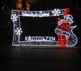 Krotoszyńskie ozdoby świąteczne. Jak Wam się podobają? [ZDJĘCIA]