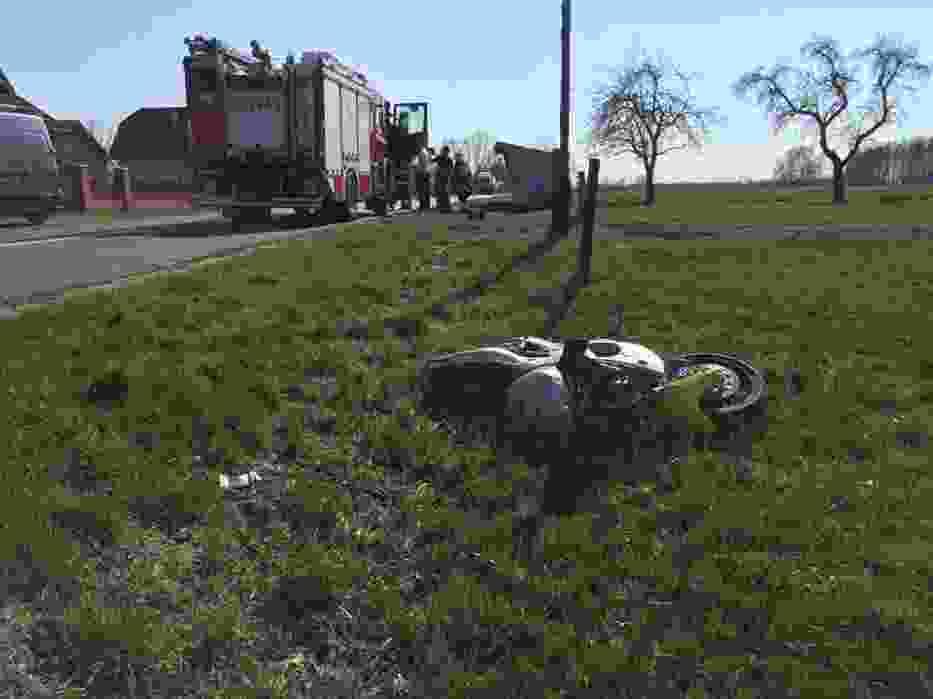 Wypadek w Ostrowie Kaliskim. Zginął 20-letni motocyklista