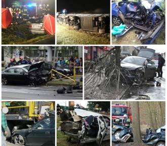 Wypadki w Wielkopolsce: 2015 rok na drogach był naprawdę tragiczny [ZDJĘCIA]