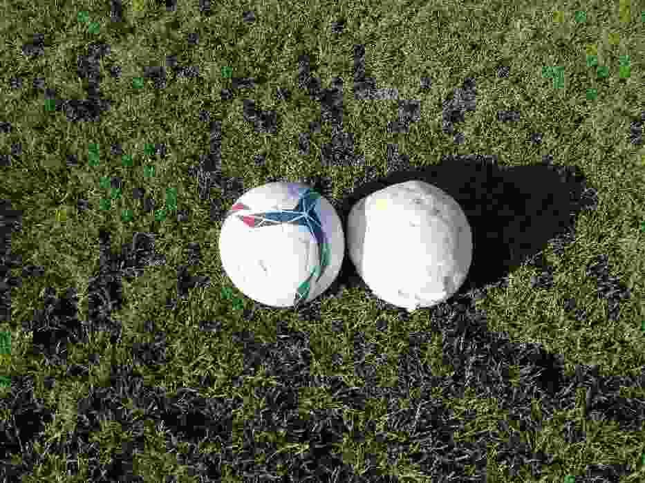 Pieczarka jak piłka! Dzieci z KS Rymer myśleli że to piłka!