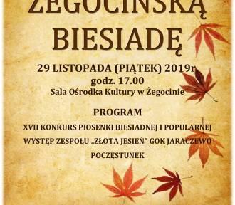Żegocińska Biesiada już 29 listopada. Co przygotowali organizatorzy?