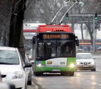 Trolejbusem przez całą ul. Jana Pawła II