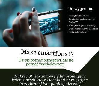Nakręć film i wygraj atrakcyjne nagrody!