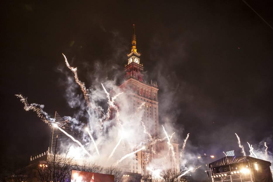 Światełko do nieba w Warszawie