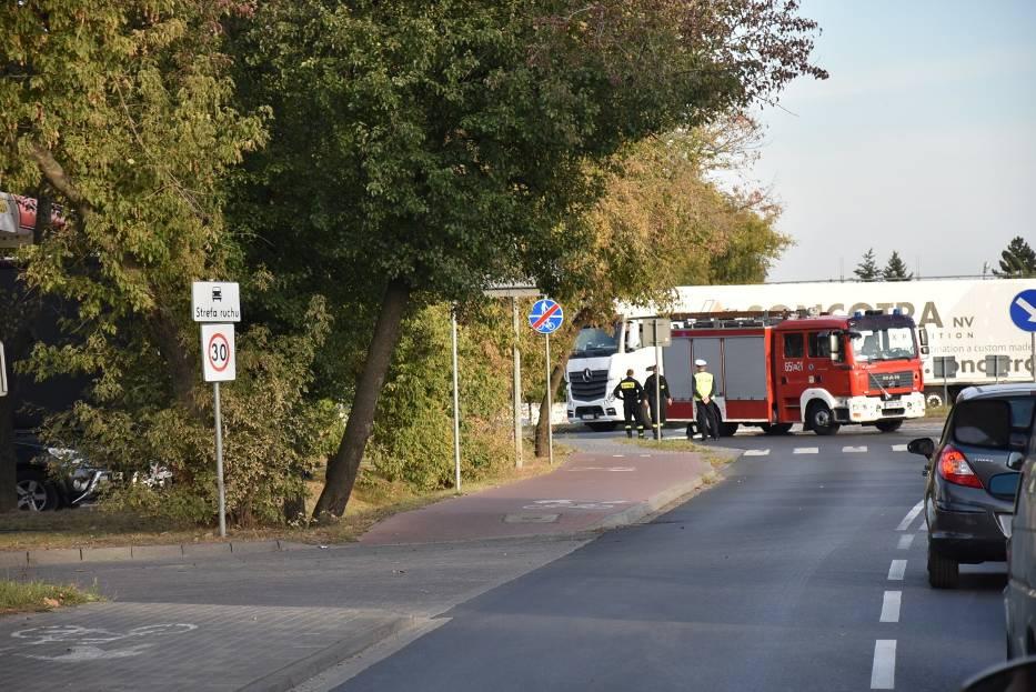 Zakorkowana Września po śmiertelnym wypadku [FOTO]