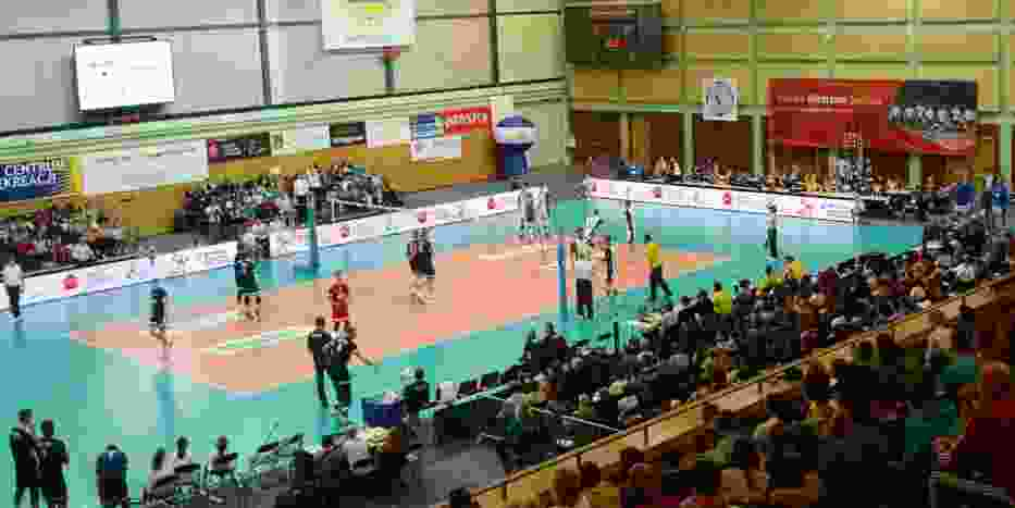 W weekend amatorski turniej siatkówki na Ursynowie